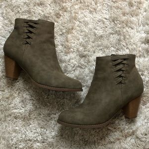 JustFab Heeled Booties